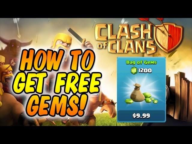 Mendapatkan Gems Clash Of Clans